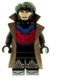 Gambit From X-Men - Custom Designed Minifigure